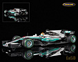 Mercedes-Benz W08 EQ Power+ F1 winner Chinese GP 2017 Lewis Hamilton