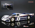 Porsche 962C Rothmans Porsche winner Le Mans 1986 Stuck/Bell/Holbert - Spark 1/18th scale. High quality resincast model car 1/18th scale made .....