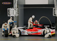 Le Mans figurine set pit crew with 6 figures and accessories