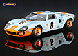 Ford GT 40 Gulf John Wyer winner Le Mans 1969 Ickx/Oliver