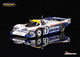 Porsche 956 Rothmans Porsche winner Le Mans 1983 Holbert/Haywood/Schuppan - Spark 1/43rd scale. High quality resincast model car with photo etched .....