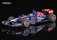 Toro Rosso STR9 F1 tests Abu Dhabi 2014 Max Verstappen with sensor antenna