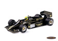 Lotus-Renault 97T Olympus F1 1985 Ayrton Senna - Minichamps 1/12th scale. High quality diecast model car in large XXL 1/12th .....
