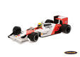 McLaren-Honda MP4/4 F1 World Champion 1988 Ayrton Senna - Minichamps 1/12th scale. High quality diecast model car in large XXL 1/12th .....