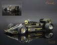 Lotus-Renault 97T F1 1985 Ayrton Senna - Minichamps 1/18th scale. High quality diecast model car 1/18th scale. Limited .....