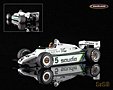 Williams FW08 Cosworth V8 F1 Saudia TAG Williams Team 1982 Derek Daly - Minichamps 1:18. Hervorragend detailliertes Modellauto aus Resin mit Fotoätzteilen .....