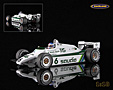 Williams FW08 Cosworth V8 F1 Saudia TAG Williams Team 1982 Weltmeister Keke Rosberg - Minichamps 1:18. Hervorragend detailliertes Modellauto aus Resin mit Fotoätzteilen .....