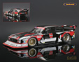 Ford Capri Zakspeed Turbo Gr.5 Kraus HiFi W�rth winner DRM Spa 1980 Klaus Ludwig - Minichamps 1/18th scale. Limited edition of 740 pieces. High quality diecast .....