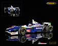 Williams-Renault FW19 F1 World Champion 1997 Jacques Villeneuve - Minichamps 1/18th scale. High quality diecast model car 1/18th scale. Limited .....