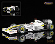 Brawn GP Mercedes BGP 001 F1 Weltmeister 2009 Jenson Button