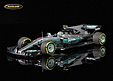 Mercedes-Benz W08 EQ Power+ F1 6° GP China 2017 Valtteri BottasMinichamps Maßstab 1:43. Hervorragend detailliertes Modellauto aus Resin .....