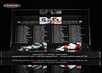 F1 Gift Set 41 GP victories Lewis Hamilton & Ayrton Senna with 2 models