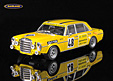 Mercedes-Benz 300 SEL 6.8 AMG HE Sieger Briefmarken Le Mans pre-tests 1972 Hans Heyer