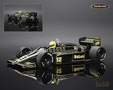 Lotus-Renault 98T F1 1986 Ayrton Senna - Minichamps 1/18th scale. High quality diecast model car 1/18th scale. Limited .....