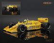 Lotus-Honda 99T Camel Team Lotus F1 1987 Ayrton Senna - Minichamps 1/18th scale. High quality diecast model car 1/18th scale. Limited .....