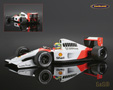 McLaren-Honda MP4-6 F1 World Champion 1991 Ayrton Senna - Minichamps 1/18th scale. High quality diecast model car 1/18th scale. Limited .....