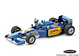 F1 Gift Set Benetton-Renault B195 F1 World Champion 1995 with Michael Schumacher figure