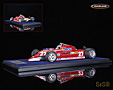 Ferrari 126 CK F1 Istrana Starfighter Race 1981 Gilles Villeneuve - Look Smart 1/18th scale. Limited edition of 99 pieces. High quality resincast .....