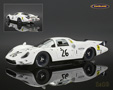 Ferrari 365 P2 N.A.R.T. White Elephant Le Mans 1967 Rodriguez/Parsons - Tecnomodels 1/18th scale. Limited edition of just 250 pieces. Super detailed .....