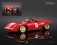 Ferrari Dino 212E Montagna 1° European Hillclimb Rossfeld 1969 Peter Schetty - Tecnomodel 1/18th scale. Limited edition of only 125 pieces. High quality .....