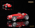 Ferrari 500 Scuderia Ferrari F2 winner Italian GP 1952 F1 World Champion Alberto Ascari - Tecnomodel 1/18th scale. Limited edition of 100 pieces. High quality resincast .....
