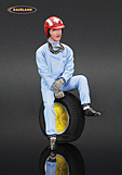 Figure Jo Siffert Lotus F1 1963