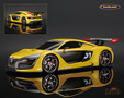 Renault Sport RS 01 2014 yellow