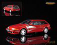 Volvo 480 Turbo 1989 red