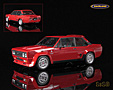 Fiat 131 Abarth Stradale 1976 red