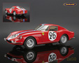 Ferrari 275 GTB Competizione Ed Hugus Le Mans 1966 Biscaldi/de Bourbon-Parme - BBR 1/18th scale. Limited edition of 150 pieces, individually numbered. .....