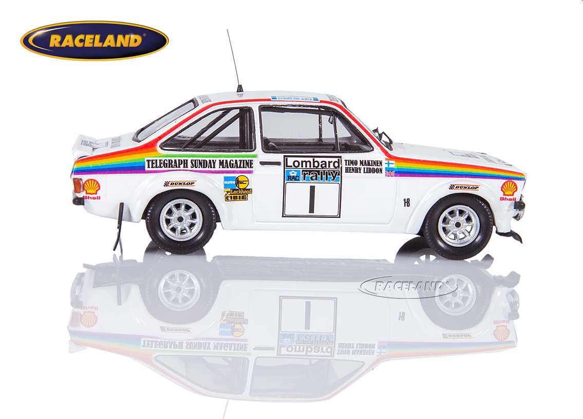 Ford Escort Mk2 RS1800 Ford Motor Co. RAC Rallye 1976 Makinen/Liddon Bild 3