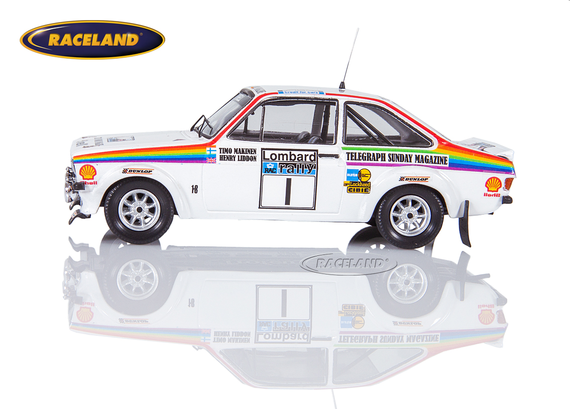 Ford Escort Mk2 RS1800 Ford Motor Co. RAC Rallye 1976 Makinen/Liddon Bild 4