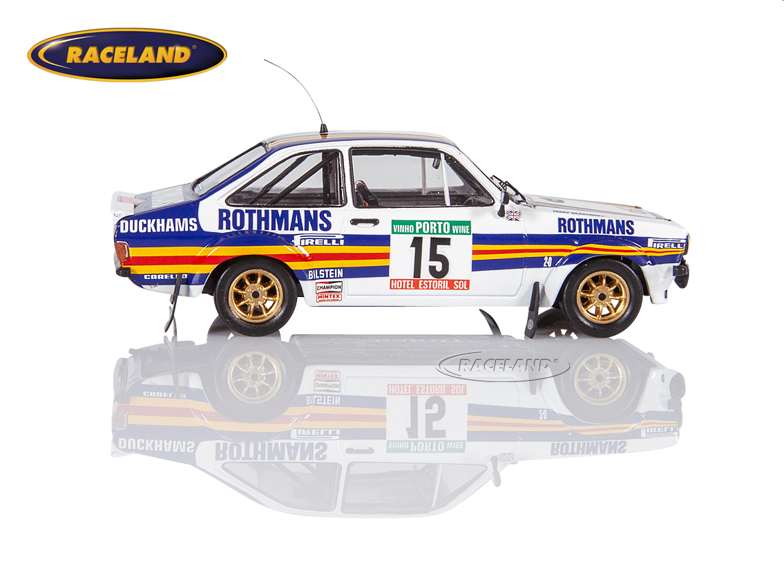 Ford Escort MkII RS1800 Rothmans Rally Team Rallye Portugal 1981 Wilson/Harryman Bild 3