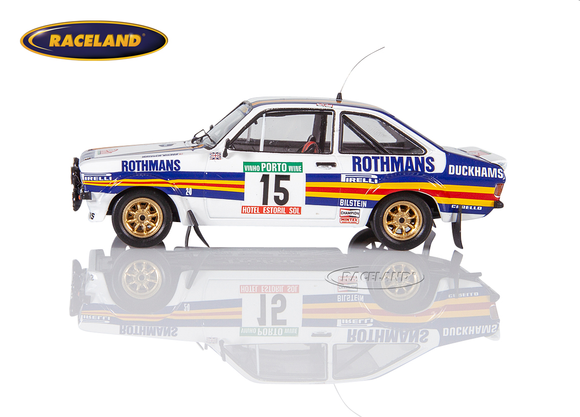 Ford Escort MkII RS1800 Rothmans Rally Team Rallye Portugal 1981 Wilson/Harryman Bild 4