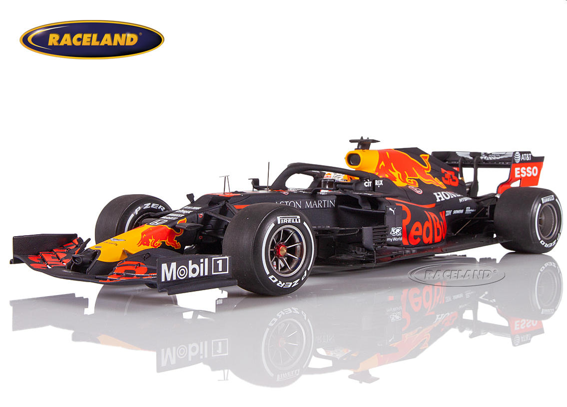 Aston Martin Red Bull TAG Heuer Honda RB16 F1 Tests Barcelona 2020 Max Verstappen