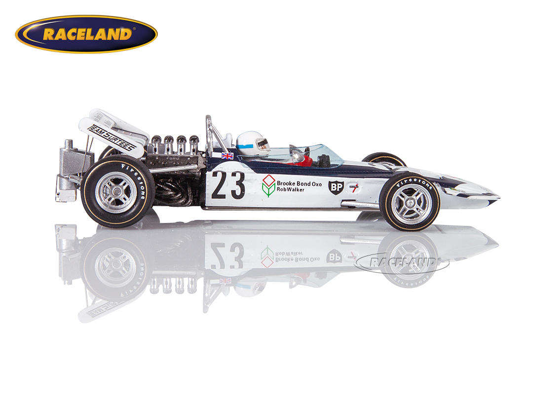 Surtees TS9 Cosworth V8 F1 Brooke Bond Oxo 5° GP Holland 1971 John Surtees Bild 3