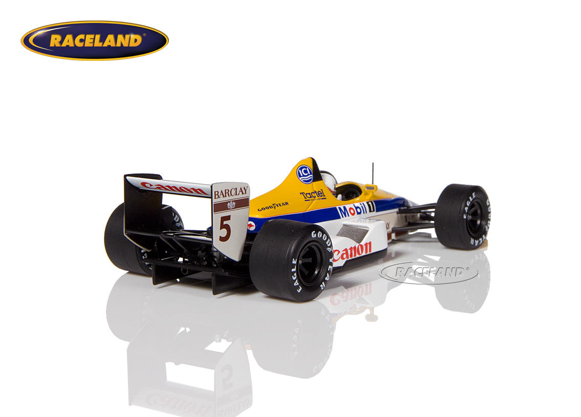 Williams FW12 Judd V8 Canon F1 7° GP Belgien 1988 Martin Brundle Bild 2