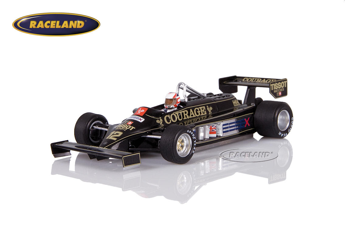 Lotus 87 Cosworth V8 F1 John Player Team Lotus GP England 1981 Nigel Mansell
