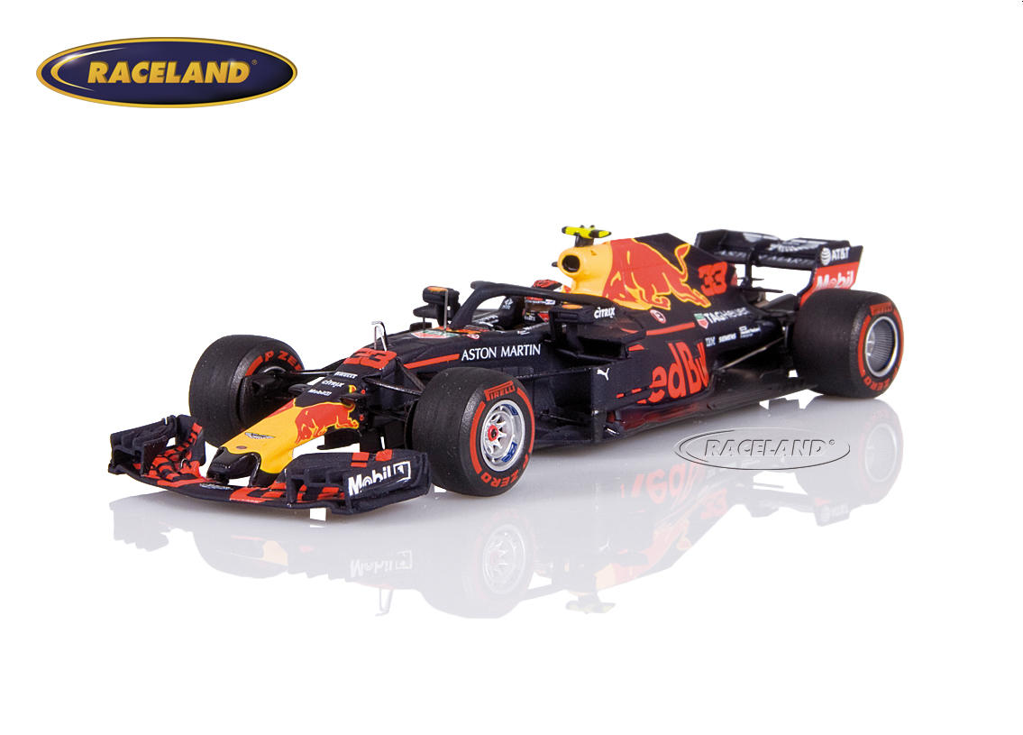 Aston Martin Red Bull RB14 TAG Heuer F1 Sieger GP Mexiko 2018 Max Verstappen