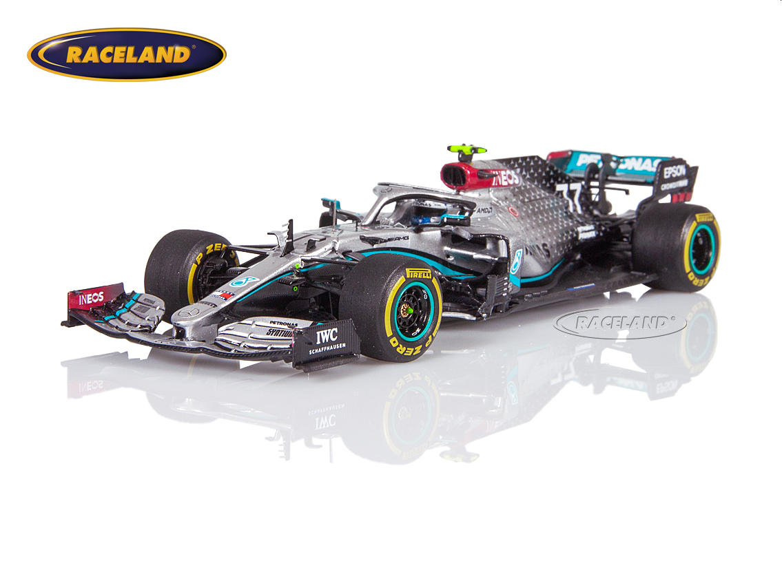 Mercedes AMG W11 Petronas F1 Tests Barcelona 2020 Valtteri Bottas