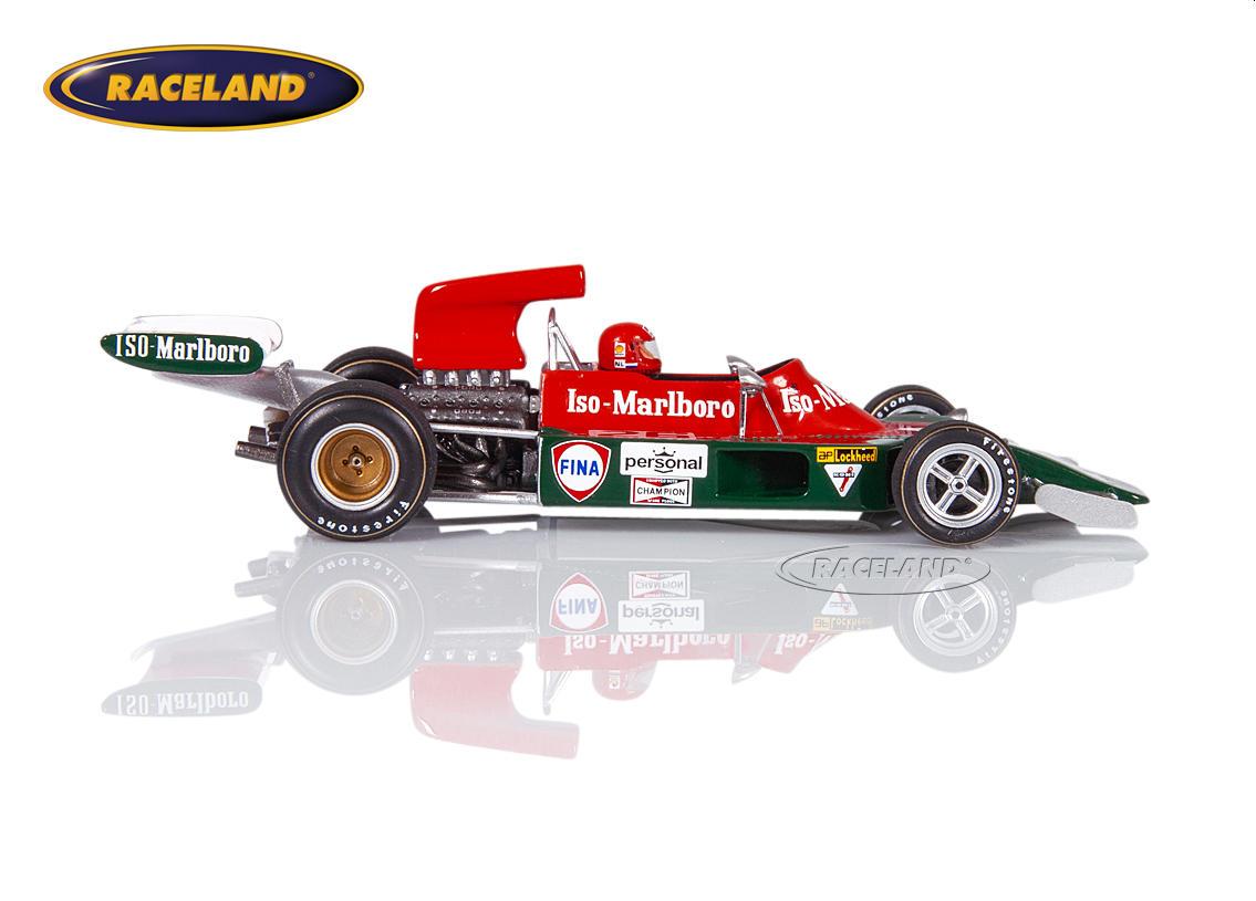 SPARK 1:43 ISO IR Cosworth v8 f1 FRANK WILLIAMS GP Hollande 1973 Gijs Van Lennep
