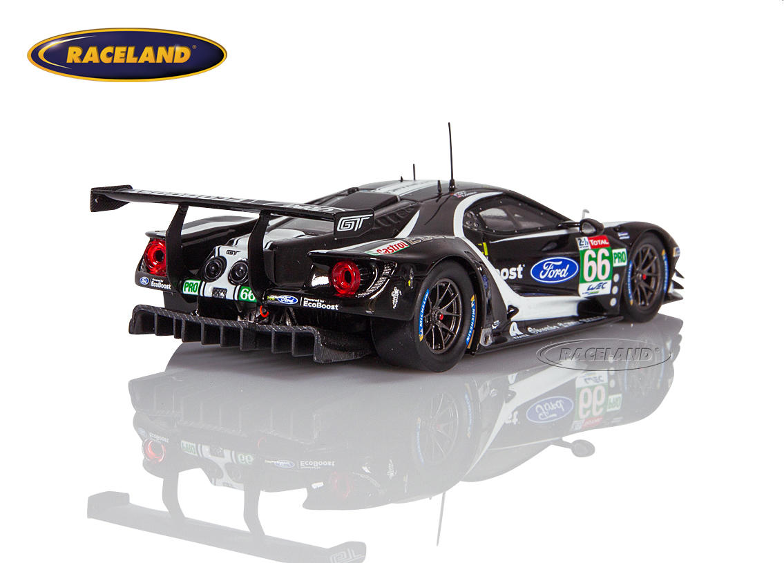Ford GT LMGTEPro Chip Ganassi UK 25° Le Mans 2019 Mücke/Pla/Johnson Bild 2
