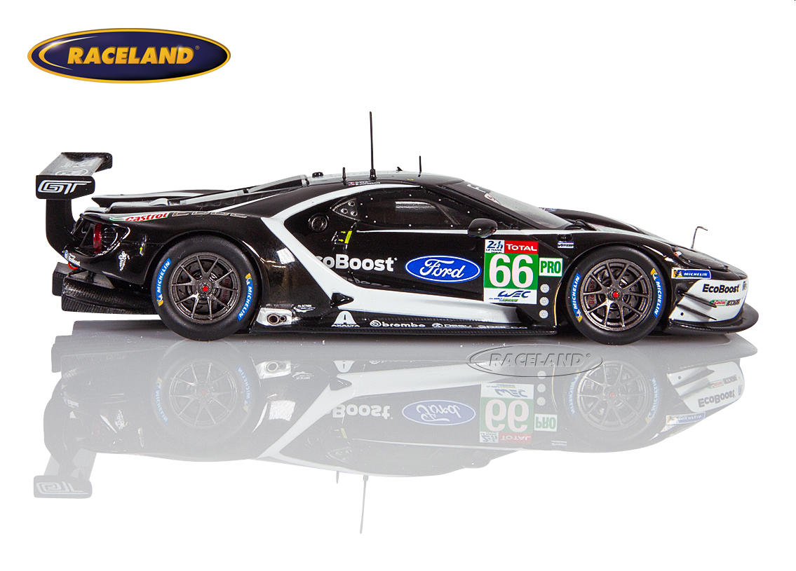 Ford GT LMGTEPro Chip Ganassi UK 25° Le Mans 2019 Mücke/Pla/Johnson Bild 3