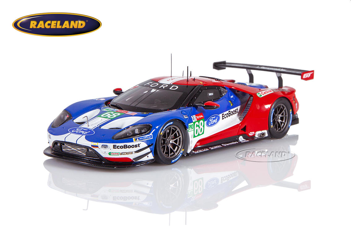 Ford GT LMGTEPro Chip Ganassi USA Le Mans 2019 Hand/Müller/Bourdais