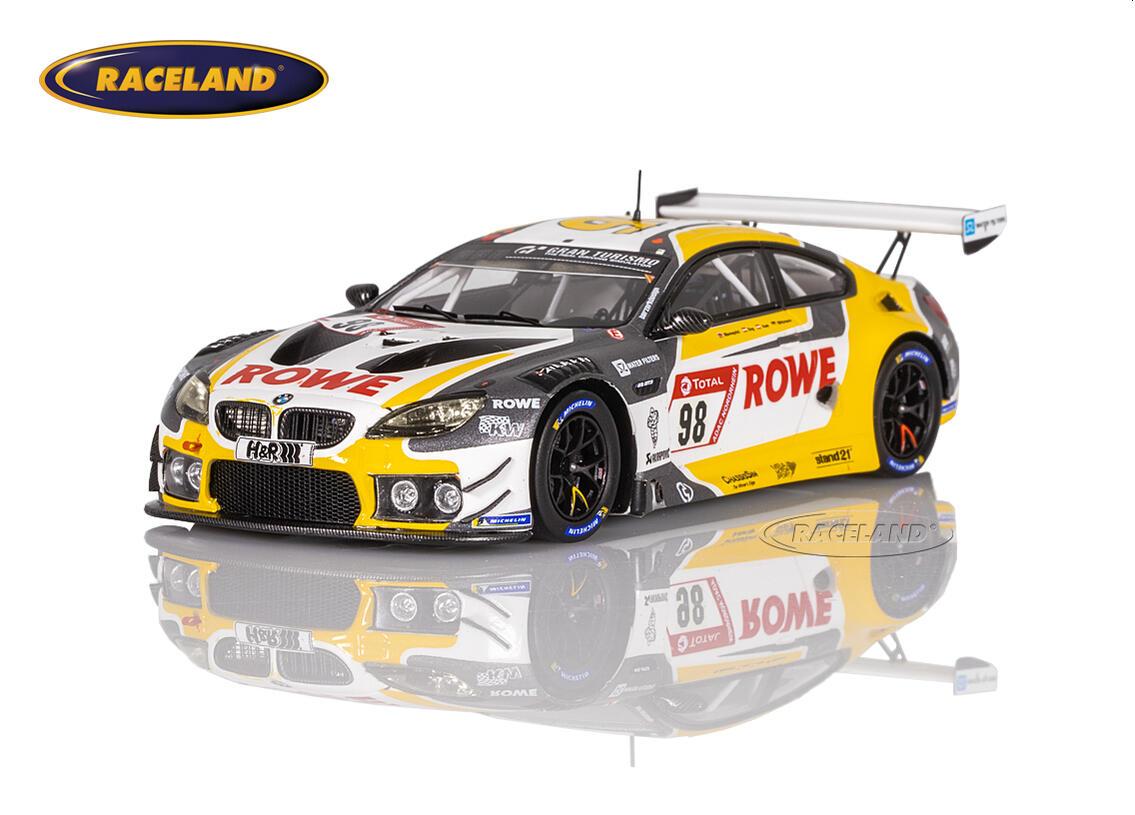 BMW M6 GT3 Rowe Racing 4° 24H Nürburgring 2020 Marco ...