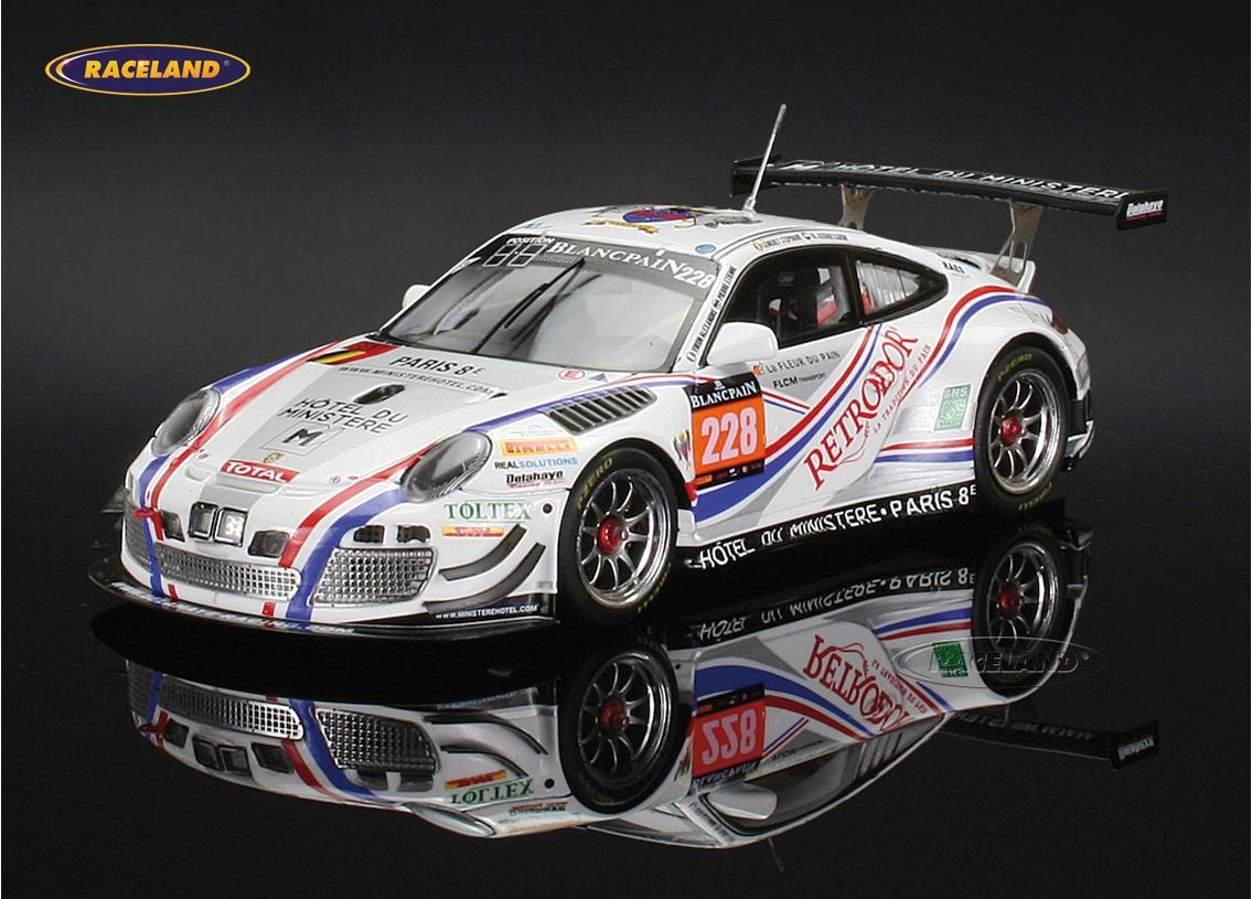 Porsche 911 Gt3 R Delahaye Racing 33 24h Spa 2014 Bordet Viron Lemeret Al Azhari
