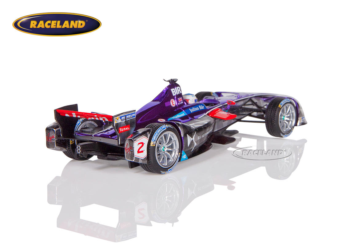 DS Virgin Racing Formula E Sieger New York 2016/2017 Sam Bird Bild 2