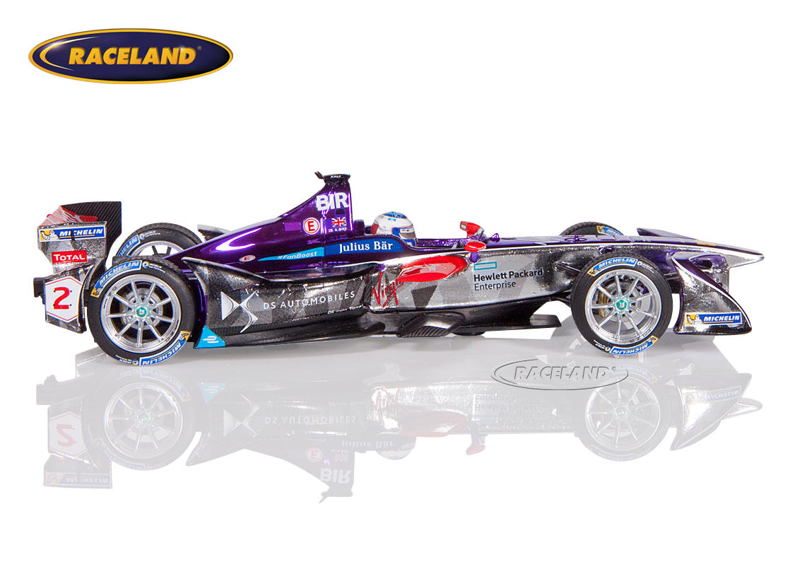 DS Virgin Racing Formula E Sieger New York 2016/2017 Sam Bird Bild 3