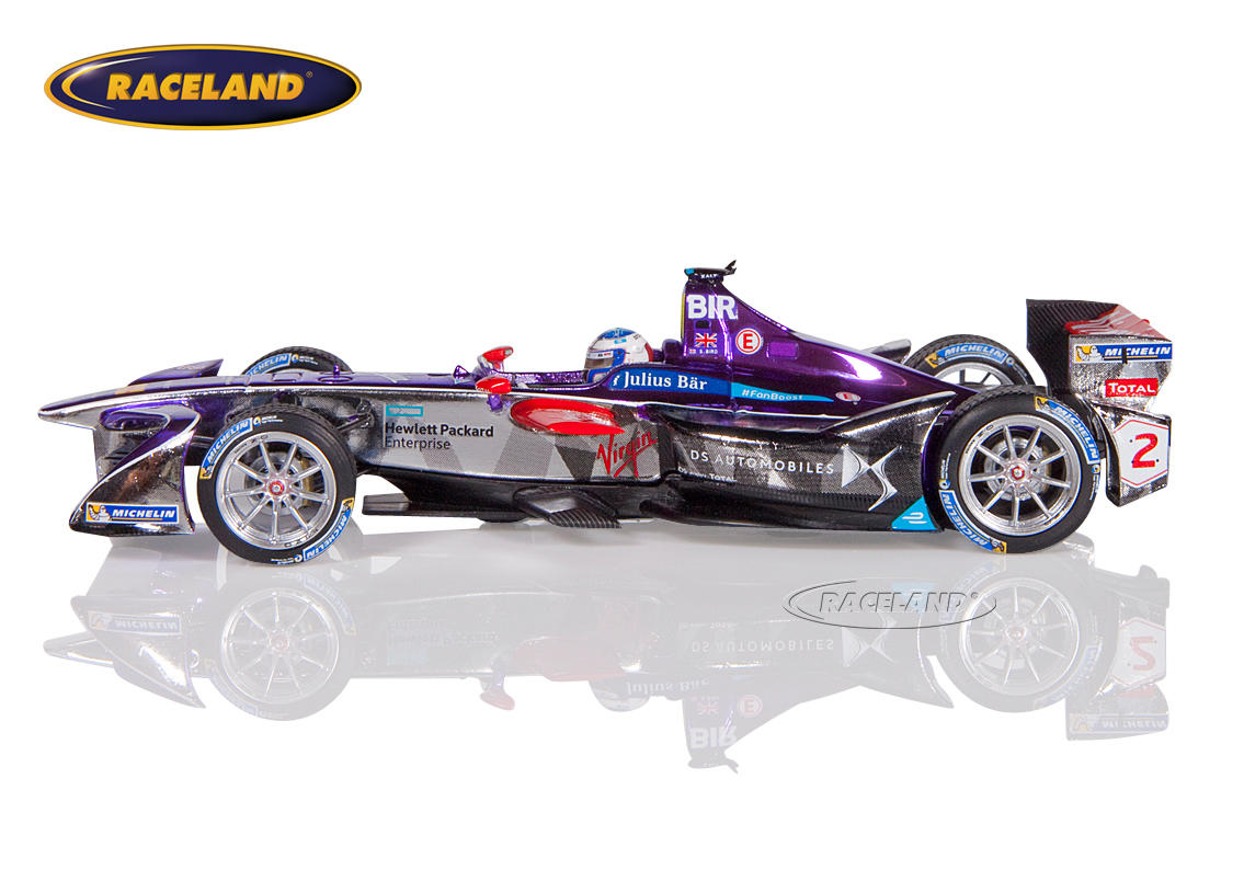 DS Virgin Racing Formula E Sieger New York 2016/2017 Sam Bird Bild 4