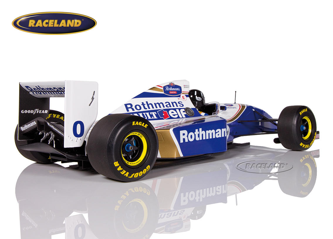Williams-Renault FW16 F1 1994 Damon Hill Bild 2